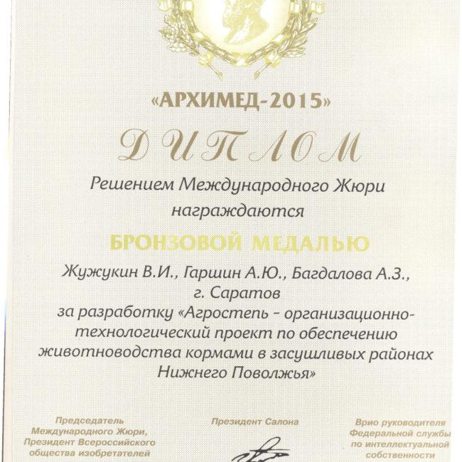 Диплом участи 2015