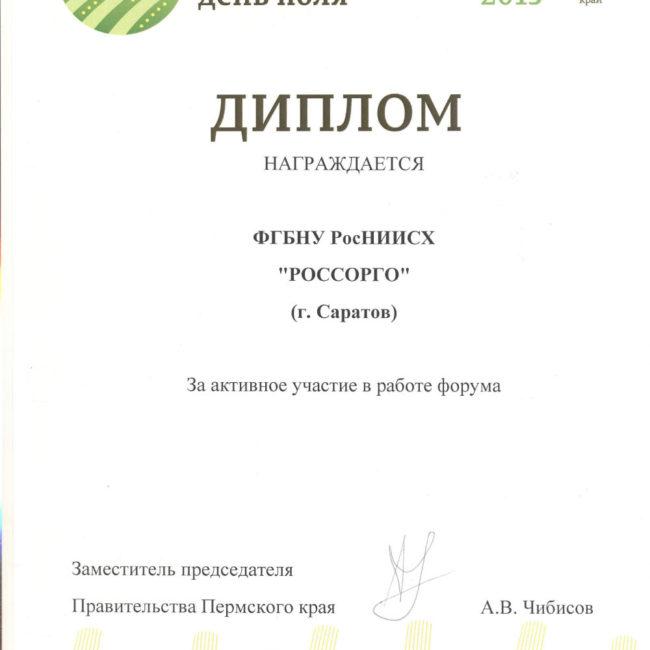 Диплом 2014 просо Золотая Орда
